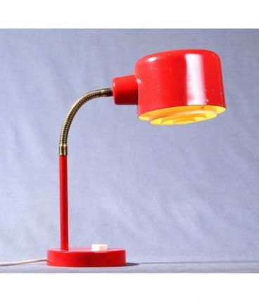 Lampe bureau vintage scandinave