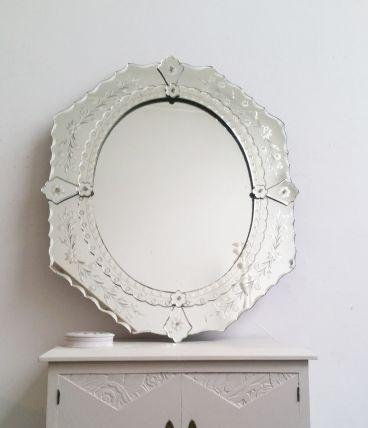 Grand miroir vénitien