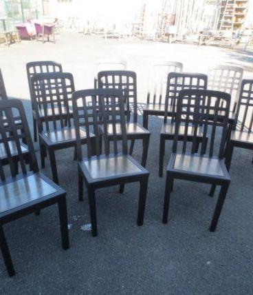 chaises bistrot années 50/60 relookées