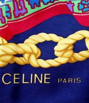 Foulard / carré Céline en soie