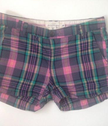Mini short coton femme été taille 38