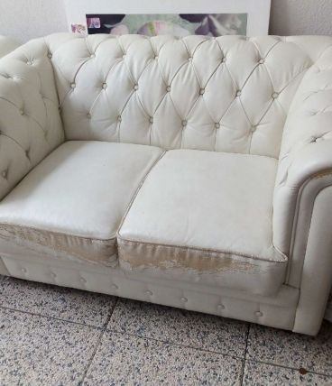 Canapés fauteuils Chesterfield