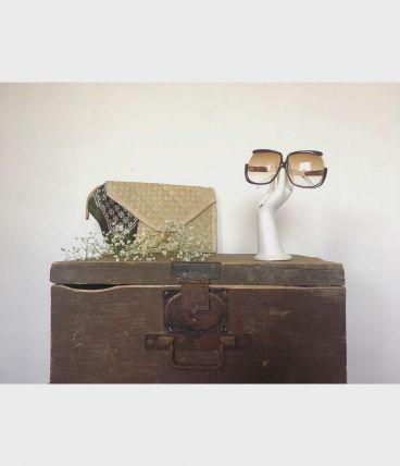 Lunettes de soleil oversize vintage
