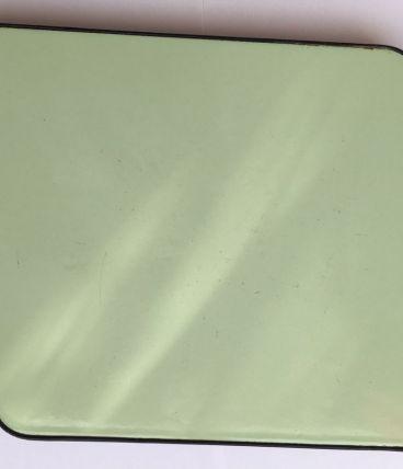 Dessous de plat en formica vert d'eau vintage
