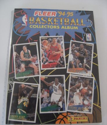 Album panini fleer 94 95 basketball o'neal grant