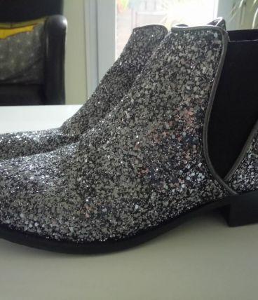 Boots pailletés Kookai