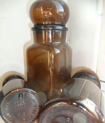 Pot Apothiquaire marron DASH