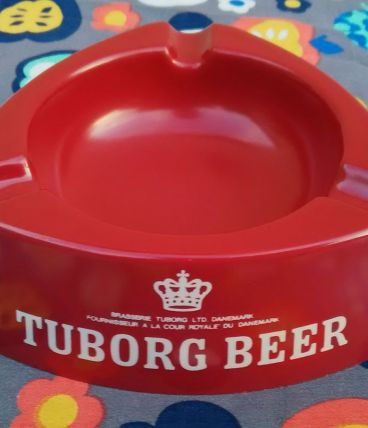 cendrier publicitaire Tuborg Beer