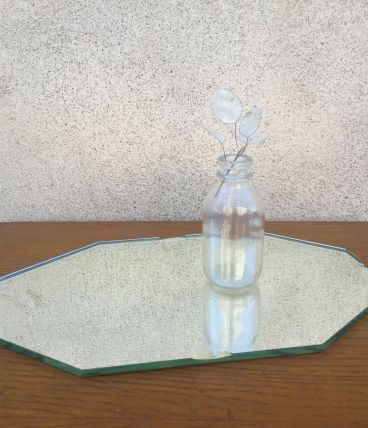 Plateau miroir biseauté