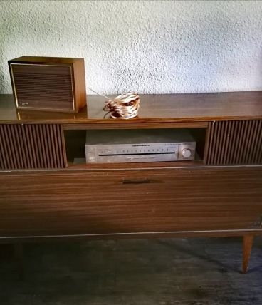 meuble audio GRUNDIG