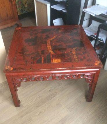 Table basse mongole