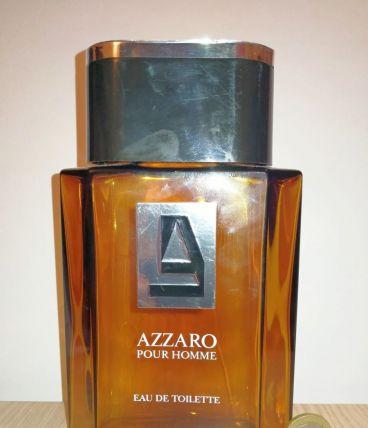 Bouteille de parfum Azzaro (vide) de collection 80's