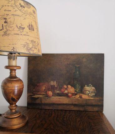 Tableau copie Chardin Le bocal d'olive