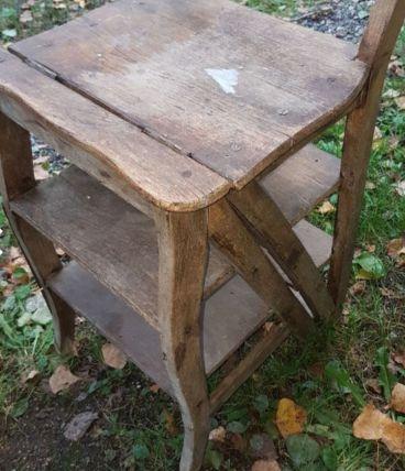 Ancien escabeau chaises