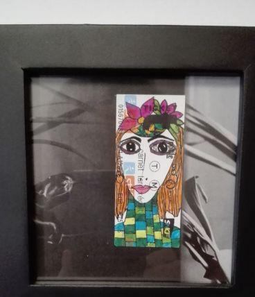 Portrait Ticket  #16