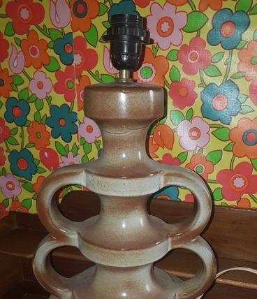 Pied de lampe céramique W.Germany