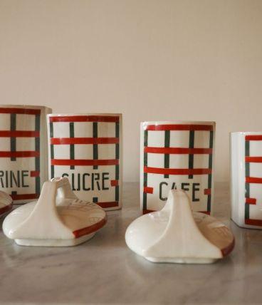 Série pots Farine/Sucre