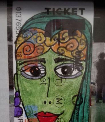 Portrait Ticket  #22