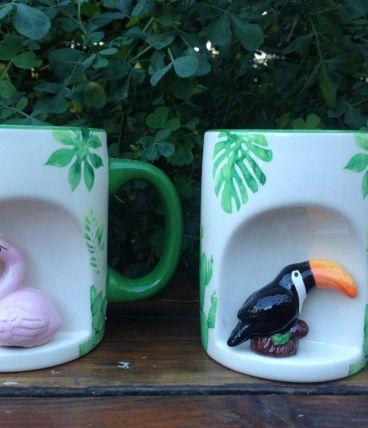 Mug animal  tropical