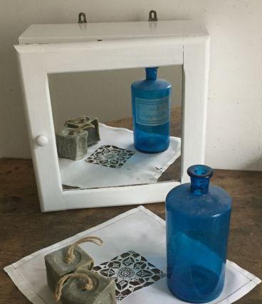 Armoire de toilette pour salle de bain vintage