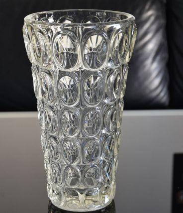 Très grand vase en verre