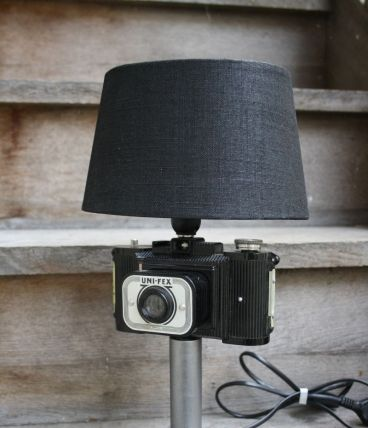 "LAMPE A POSER RECUP' ""PHOTO"""