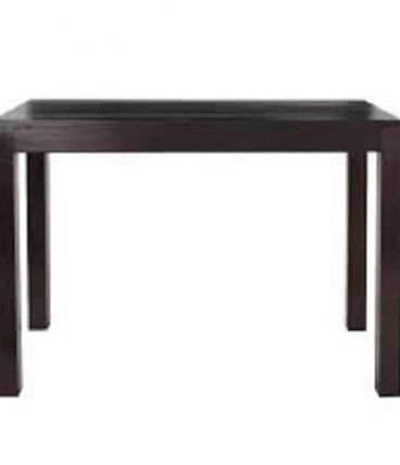Table haute en bois massif