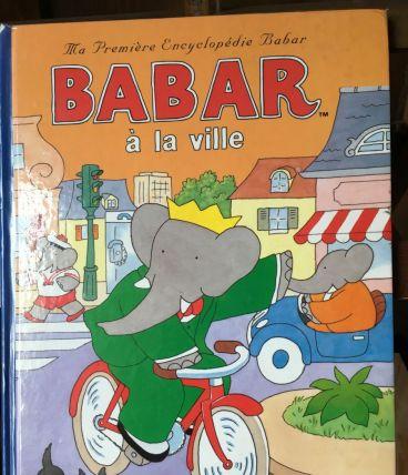 Album BABAR à la ville