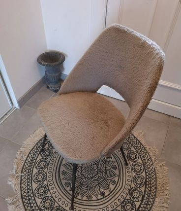 Chaise Pelfran cocktail taupe