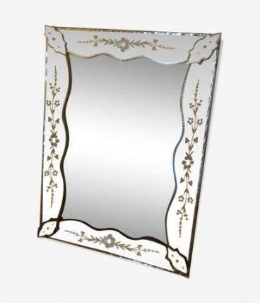 Miroir style vénitien