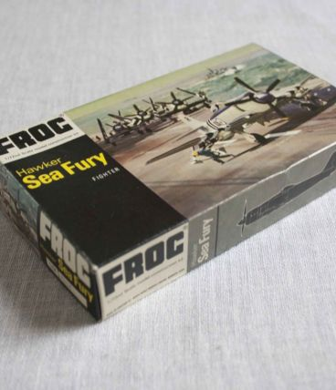 maquette avion Frog Sea Fury 1/72