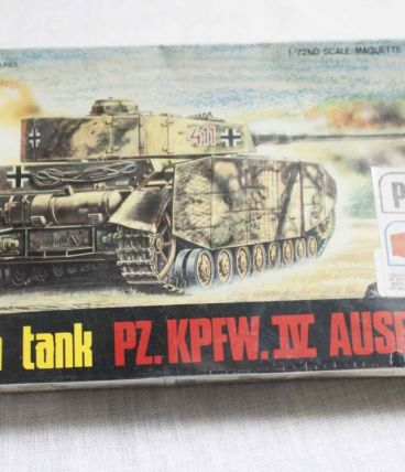 maquette tank allemand 1/72