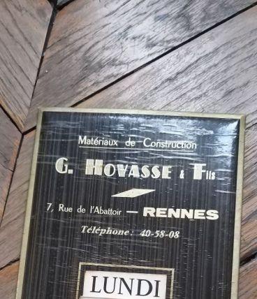 Calendrier perpétuel vintage