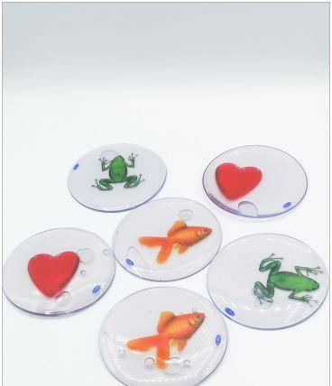 Sous-verres en silicone