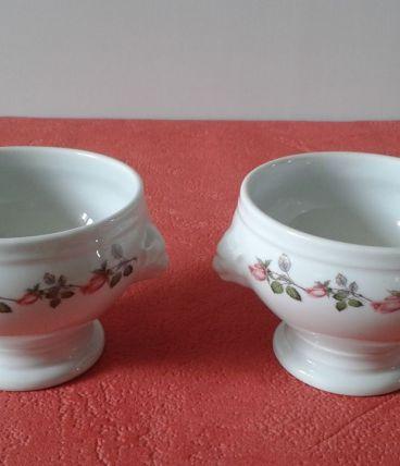 Deux bols vintage en porcelaine