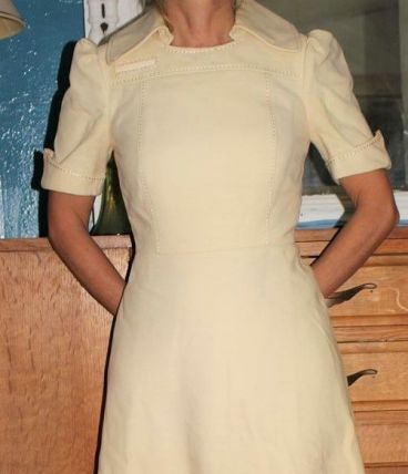 ROBE PATINEUSE CHARESE 50'S 60's