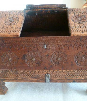Coffre de mariage Rajasthan vintage