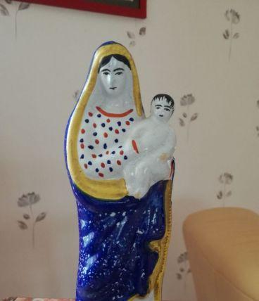 Vierge accouchée