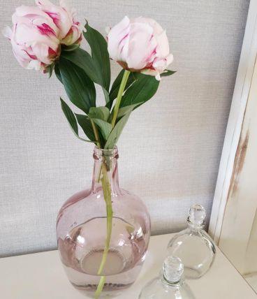 """Bonbonne """"Dame Jeanne"""" rose"""