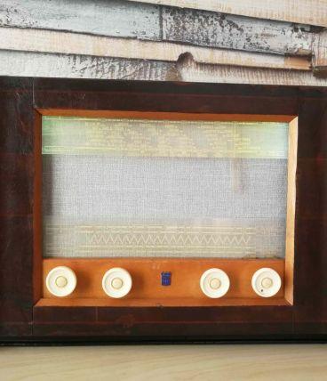 Poste de radio radiola de 1949 compatible bluetooth