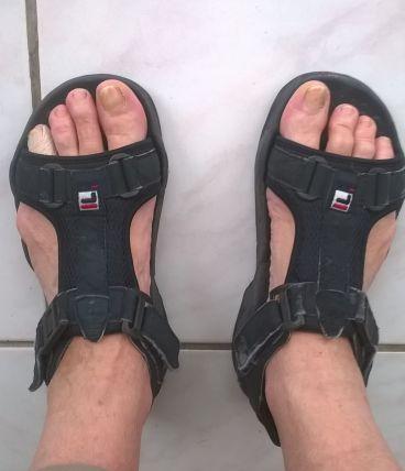 Nu-pieds vintage FILA pour de nouvelles aventures