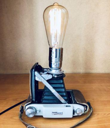 Lampe vintage Gisèle Kodak - Atelier Monsieur Lumière