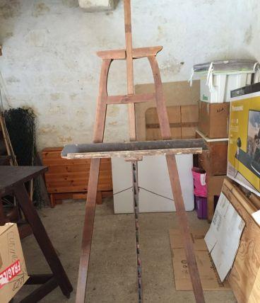 Ancien chevalet de peintre