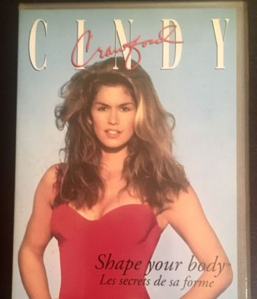 VHS Cindy Crawford - Shape Your Body