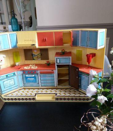 Cuisine de poupée La super cocina Rico 1970