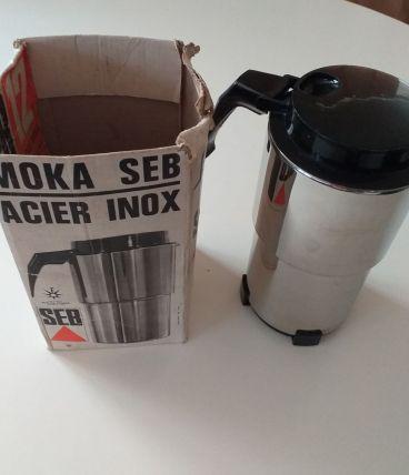 Cafetière pression acier inox SEB