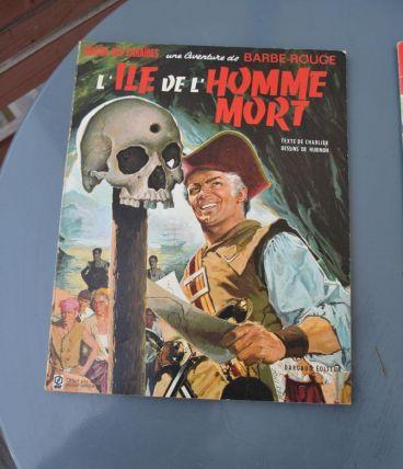 BD Barbe Rouge L'île de l'homme mort année 67