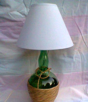 Lampe campagnarde