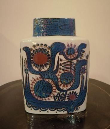Vase Lilas bleu par Berte Jessen