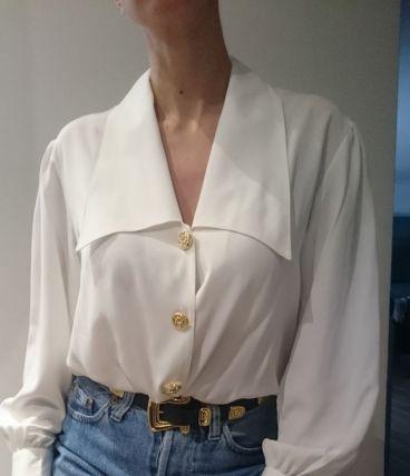 Chemise vintage blanche